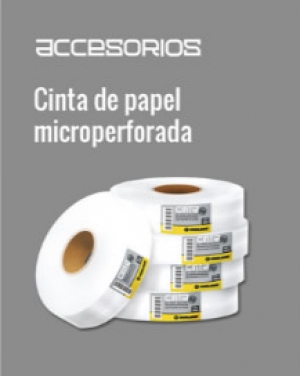Cinta de papel microperforada Durlock®